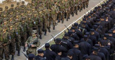 2000 soldados y policias contra las maras en Guatemala