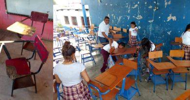 Escritorios de las escuelas serán hechos en cárceles de Guatemala