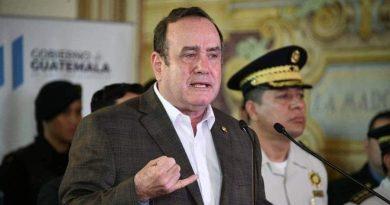 Mareros Planean un ataque contra el presidente Giammattei