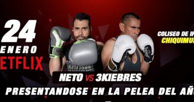 Pelea de Neto Bran y 3Kiebres será transmitida en Netflix