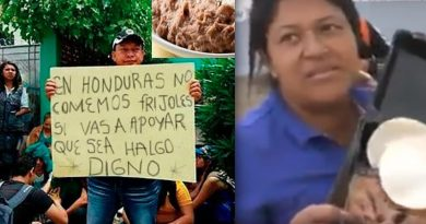 migrantes hondureños no comen huevos ni frijoles