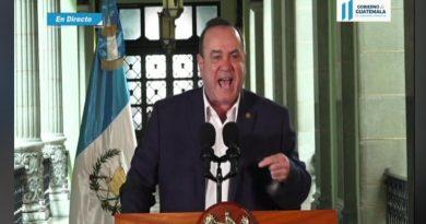 Presidente Giammattei descubre unión entre Gobernador y crimen organizado