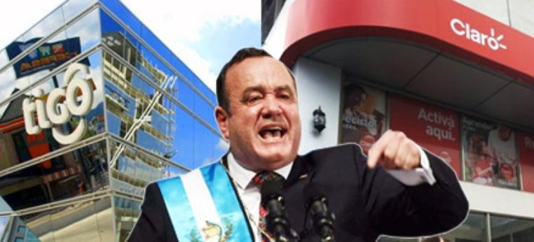 Presidente Giammattei ordena quitar la señal de telefonía en las cárceles