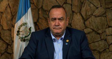 Presidente Giammattei recibió una tercera amenaza en el Palacio Nacional