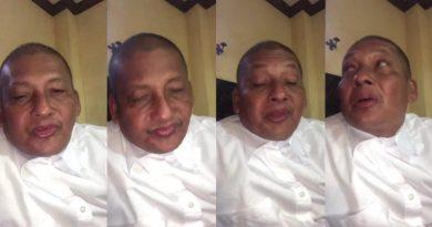 Apóstol Santiago Zuñiga contagiado de coronavirus