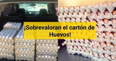 Cartón de huevos alcanza mas de Q50 en algunas partes de Guatemala
