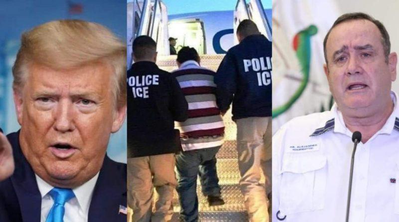 Confirman que deportados de Estados Unidos vienen contagiados de Covid-19