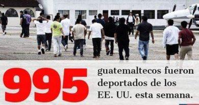 EE. UU envía cientos de deportados a Guatemala posiblemente con coronavirus