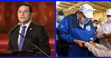 Jimmy Morales critica la gestión del presidente Giammattei