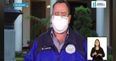 Presidente Giamamttei confirma primer caso de coronavirus en IZABAL