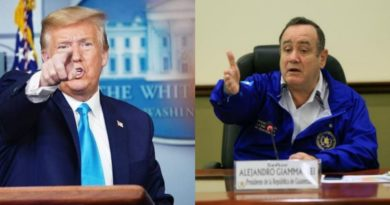 Presidente Trump esta celoso de Guatemala, estas son las razones