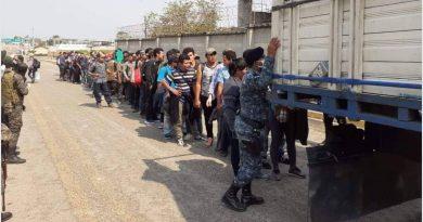 72 migrantes hondureños capturados en Peten posiblemente contagiados de Covid-19