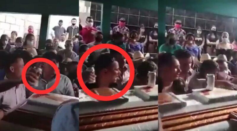 Más de 100 personas asistieron a un velorio en Jutiapa, mira el video
