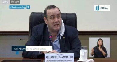 El coronavirus en Guatemala es problema de los guatemaltecos, no del gobierno