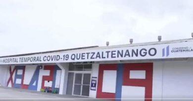 Hospital temporal de Quetzaltenango colapso, no recibirá más pacientes