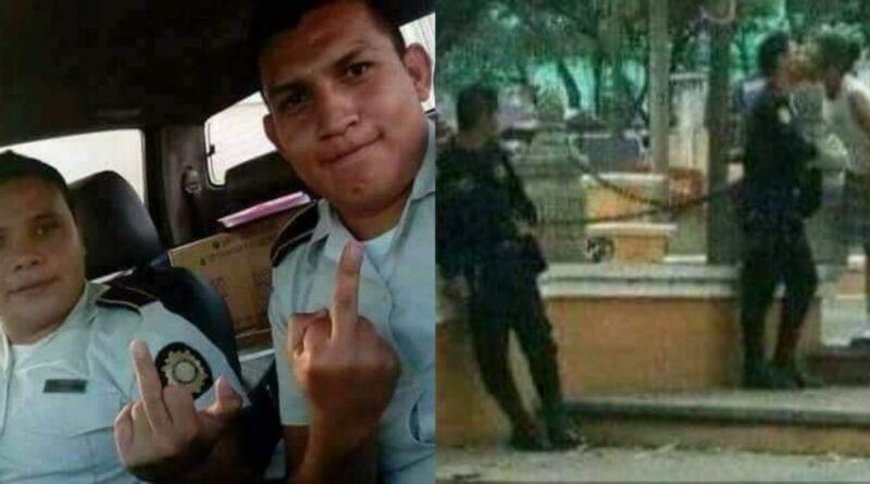 Fotografías nunca antes vistas de elementos de la Policía Nacional Civil de Guatemala
