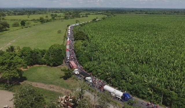 Más de 5,000 hondureños han ingresado a Guatemala en 2 días