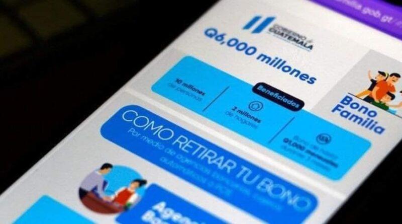 Tercer pago de BONO FAMILIA será de menos de Q250, esto dijo el MIDES