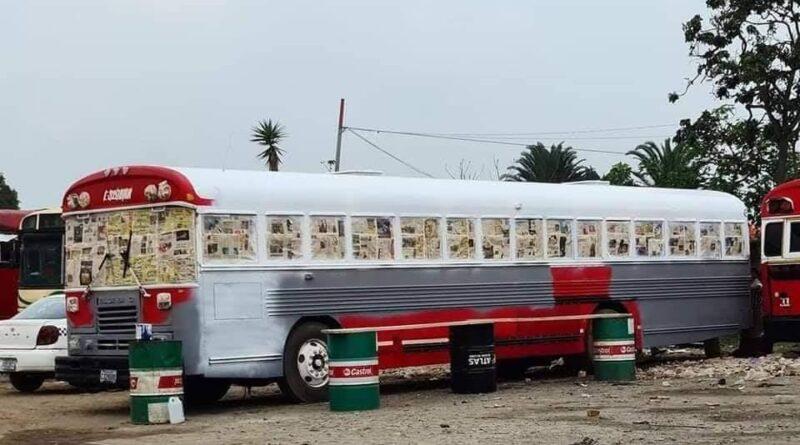 Transportistas inician a pintar buses para cobrar más haciéndolos pasar por nuevos