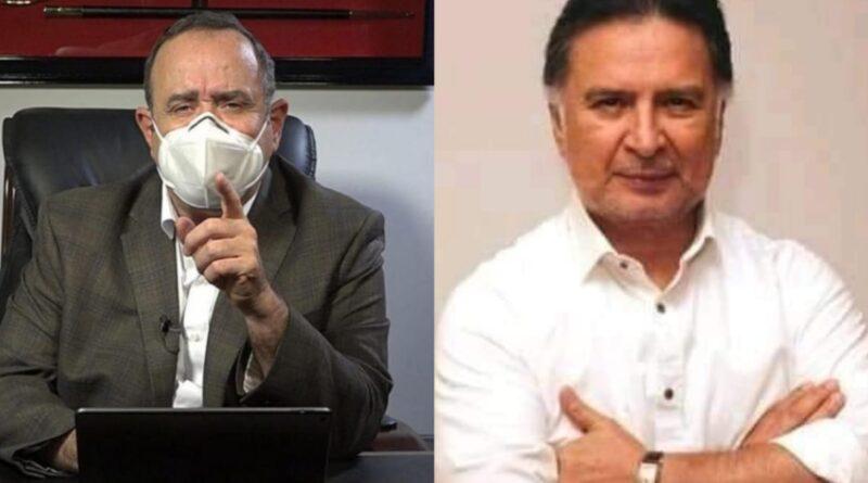 Esto le respondió Alfonso Portillo al presidente Giammattei luego de recibir las amenazas