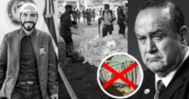 Nayib Bukele dono Guatemala $1 MILLON DE DOLARES en comida ya que el dinero se lo roban