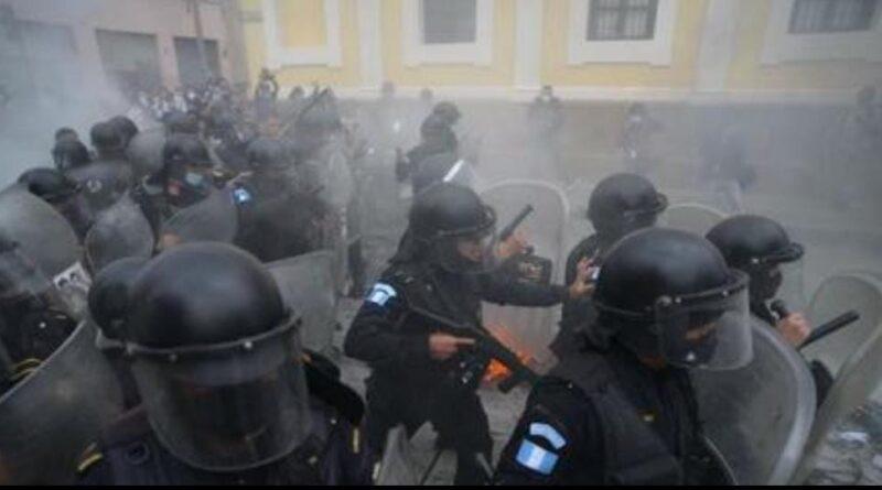 Revelan audios que comprometen a la PNC donde piden capturas en manifestación