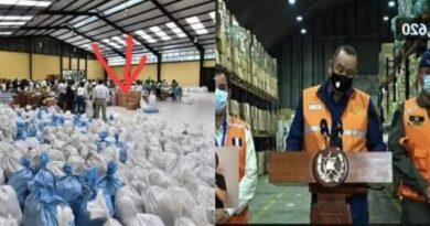 Se confirman el robo de donaciones para Guatemala por Gobierno de Guatemala