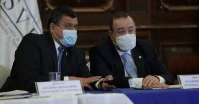 Giammattei confirma que Guatemala está entrando en una cuarta ola de contagios