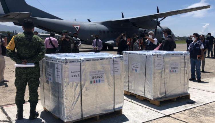 México anuncia el  envío de 150 mil dosis a Guatemala la próxima semana