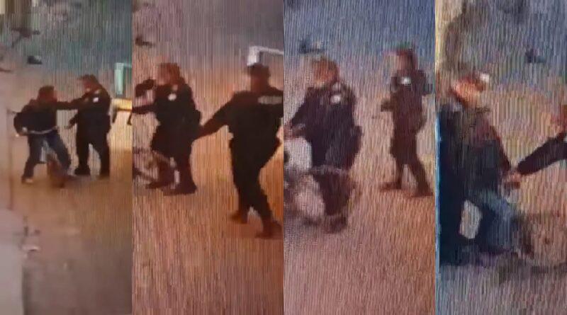 Abuso de autoridad por parte de la PNC grabado en camara